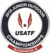 2018 USATF Juniors logo