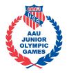 AAU JO logo